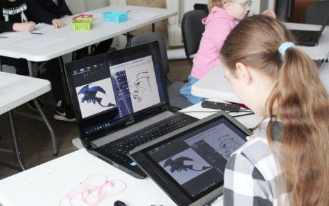 malarstwo tabletowe dla dzieci
