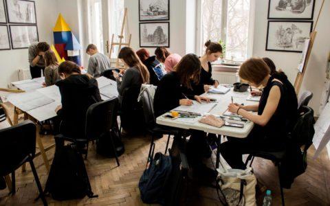 architektura kurs rysunku, pracownia rysunku w krakowie, rysunek odręczny, jak efektywnie uczyć się rysunku