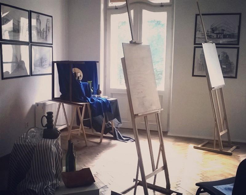 artystyczny kurs martwej natury malarski i rysunkowy