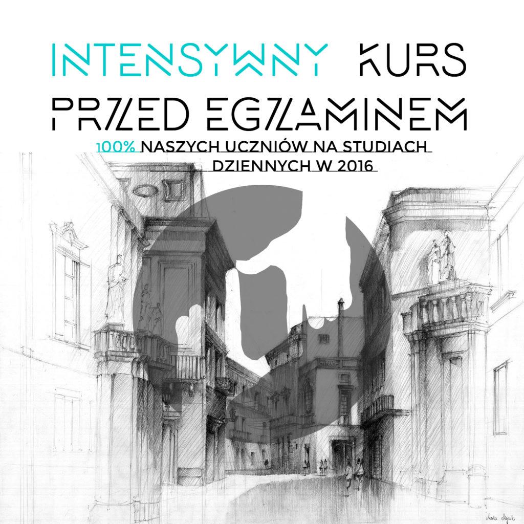 intensywny kurs rysunku architektonicznego w krakowie