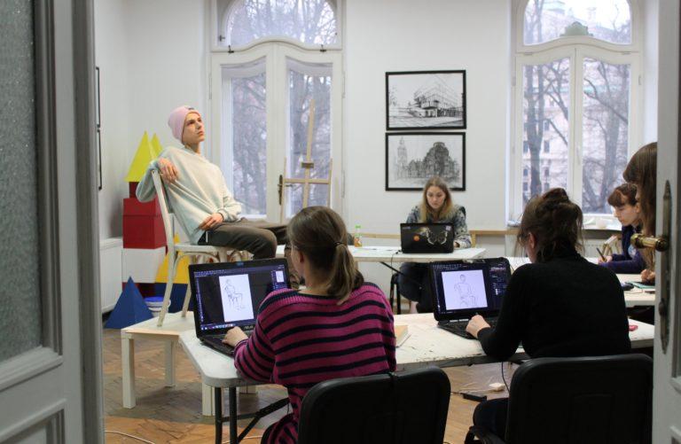digital painting rysowanie postaci, jak narysować postać na tablecie, kurs photoshopa kraków, kurs rysowanie postaci, jak zachować proporcje ludzkiego ciała na rysunku