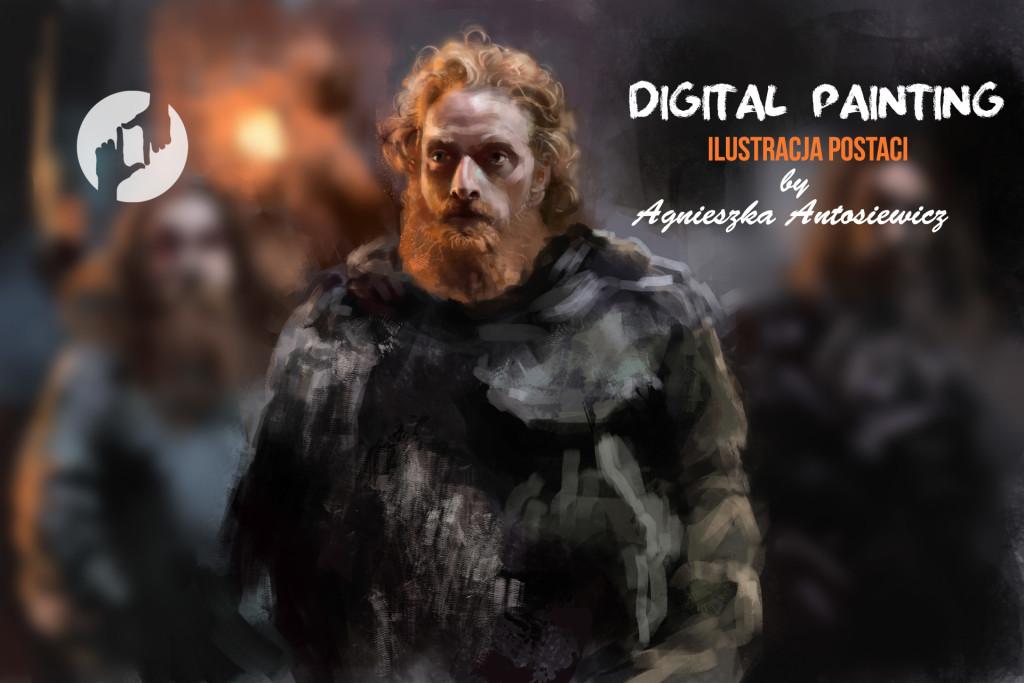 kurs digital painting, najlepszy kurs digital painting w Krakowie, nauka ilustracji postaci, grafika komputerowa