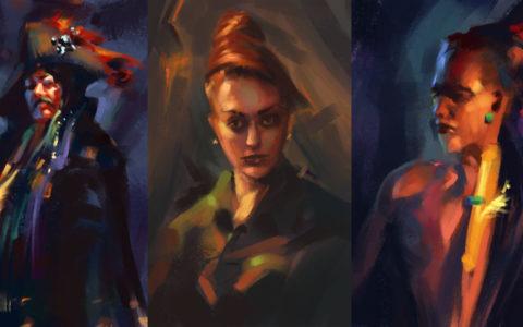 digital painting, game design, rysowanie postaci na tablecie, światłocień w photoshopie, kurs photoshopa w krakowie