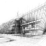 rysunek architektura kraków, nauka rysunku, szkoła rysunku na architekturę