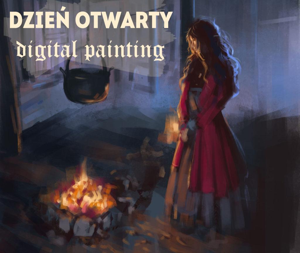 zajecia diital painting kurs