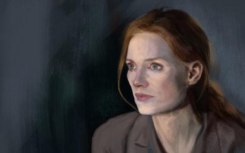 realistyczny portret w photoshopie, jak rysować fotorealistycznie, digital painting, rysowanie postaci na tablecie