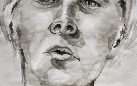 szybki szkic postaci, portret asp, jak dostać się na kierunku artystyczne,