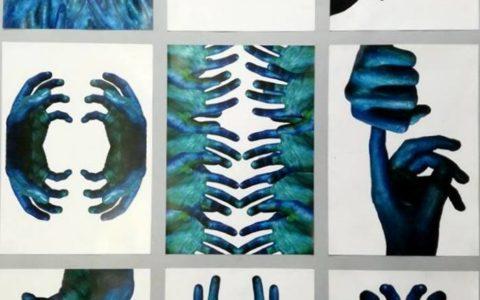 rysunek abstrakcyjny, studium dłoni, jak rozwinąć wyobraźnię przestrzenną, jak przygotować się do studiów na asp