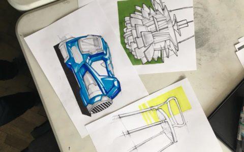 jak dostać się na wzornictwo, szybkie szkice, rysunki markerem, szkic koncepcyjny, przygotowanie teczki na asp