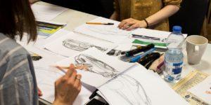 wzornictwo asp przygotowanie teczki, jak narysować samochód, projektowanie aut, jak dostać się na wzornictwo
