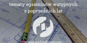 egzamin z rysunku politechnika krakowska
