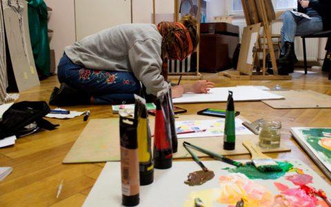 rekrutacja na asp kurs krakow, jak rozwijać kreatywność, pracownia malarska w krakowie,