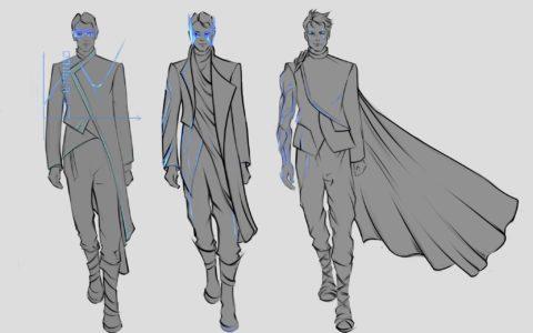 projektowanie postaci do gier kurs, projektowanie ubioru, jak dostac się na kierunki artystyczne
