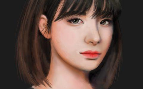 portret postaci concept krakow, realistyczna postać w photoshopie