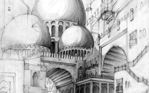 architektura historyczna, rysunek ołówkiem, kurs rysunku architektonicznego w krakowie