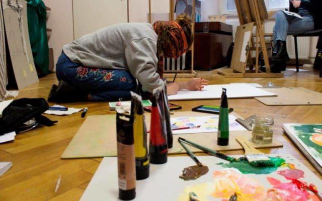 kurs malarstwa w krakowie, jak rozwijać kreatywność, pracownia malarska kraków