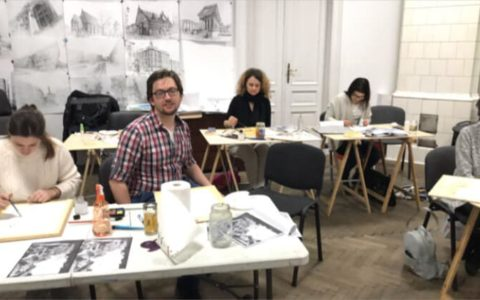 pracowania rysunku w krakowie, pracownia malarska, warsztaty akwareli w krakowie