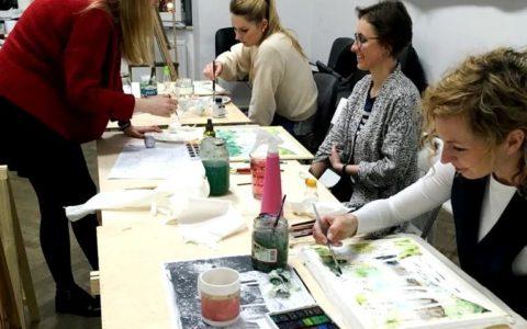 kurs malarstwa dla dorosłych, kurs malarstwa bez ograniczeń wiekowych, kurs akwareli od podstaw w krakowie